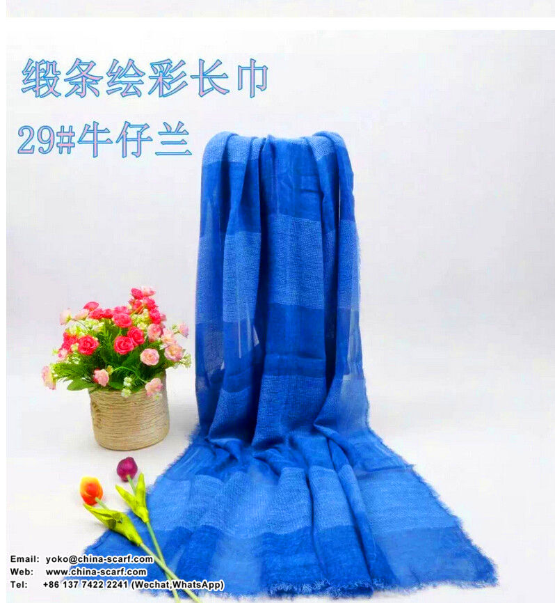 Joker satin scarf color painting restoring ancient ways wholesale, www.china-scarf.com
