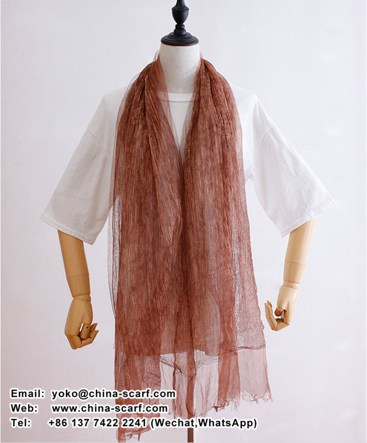 evanescent hues linen changed scarf tie dye plain