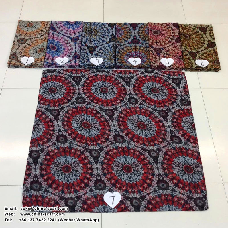 viscose women scarves for promotion, www.china-scarf.com