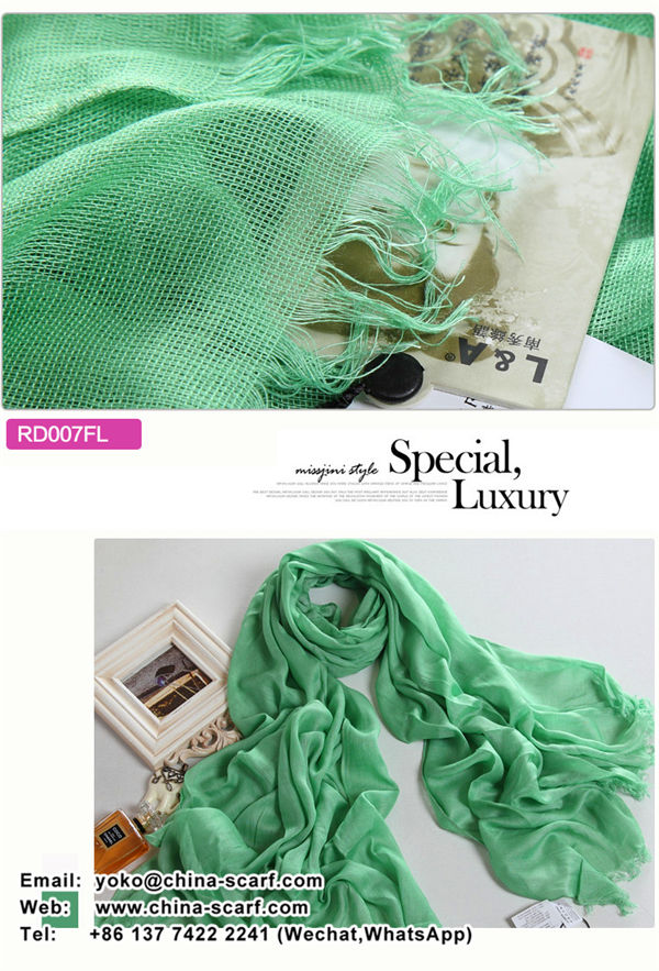 Autumn Specials Pure cotton thin cotton scarves monochrome shawls fashion scarf factory wholesale, www.china-scarf.com