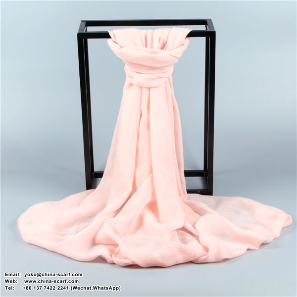 Autumn and winter large size solid color cotton and linen Multifunctional scarves keep warm shawl, www.china-scarf.com