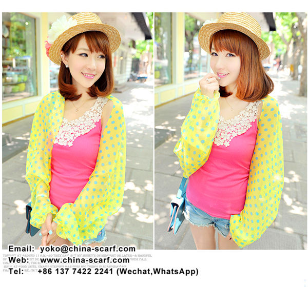 summer sun protection shawl cool breathable anti ultraviolet chiffon scarf discount wholesale, www.china-scarf.com