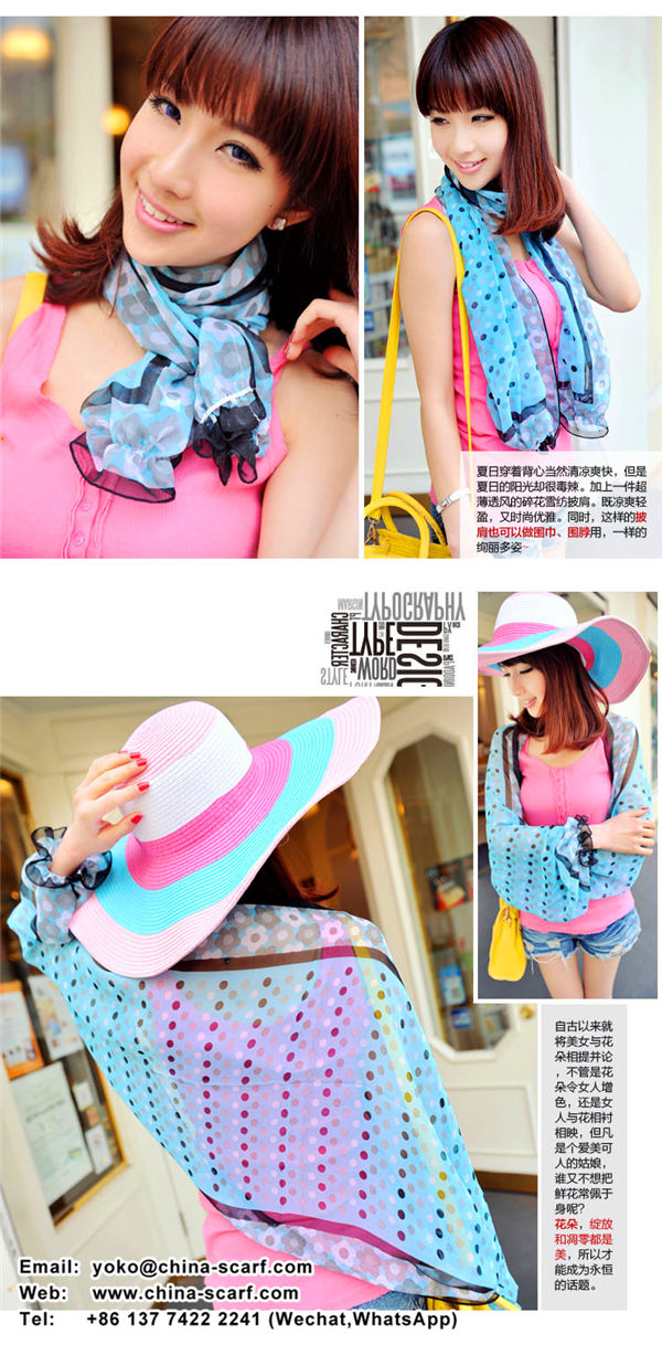 cool breathable anti ultraviolet sun protection shawl scarf factory wholesale, www.china-scarf.com