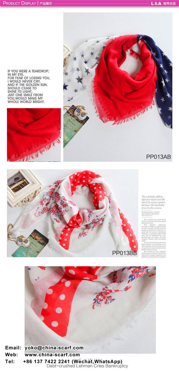 Large Korean female warm cotton printed scarves Cheap mixed batch, www.china-scarf.com