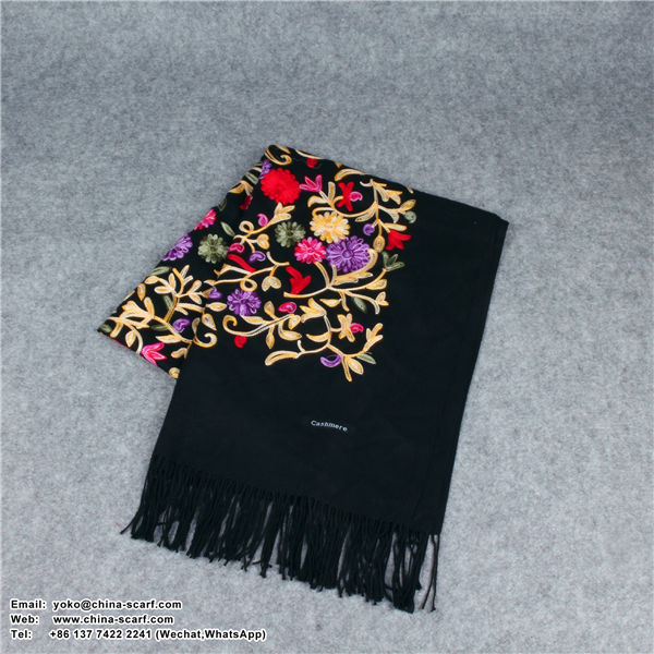 Nepal national embroidered shawl high grade keep warm thickening Scarf factory wholesale spot, www.china-scarf.com