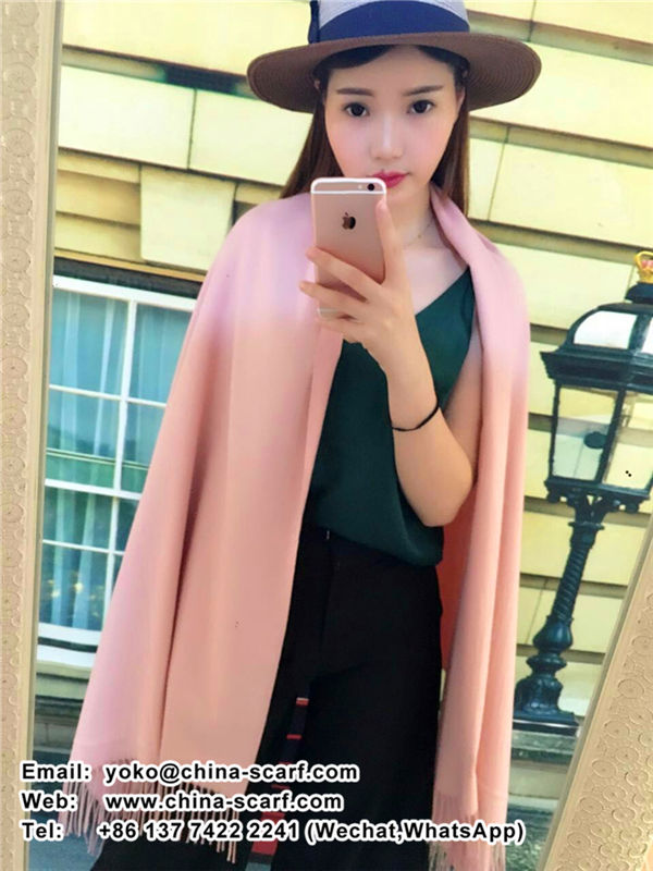Winter cashmere wholesale large solid color Angelababy galling Scarf, www.china-scarf.com