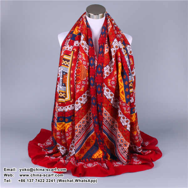 ethnic style new winter scarves large beach towel sunscreen shawl scarf factory direct spot, www.china-scarf.com