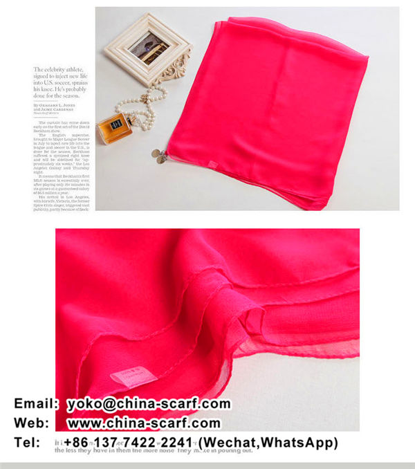 new product scarves wholesale Female long section candy solid color chiffon scarf shawl wholesale, www.china-scarf.com